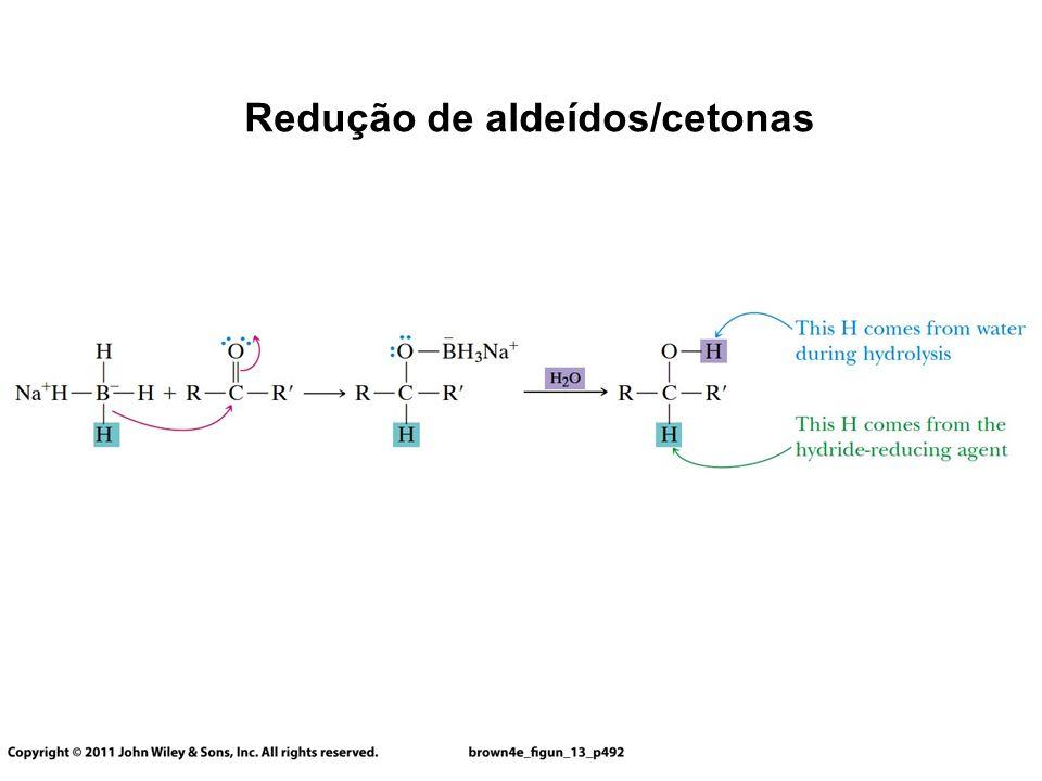 Redução de aldeídos/cetonas