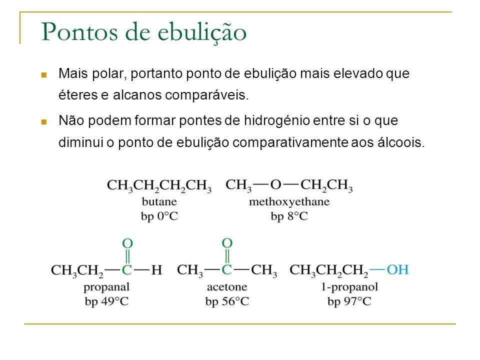 Hidrogenação catalítica Largamente utilizada na indústria.