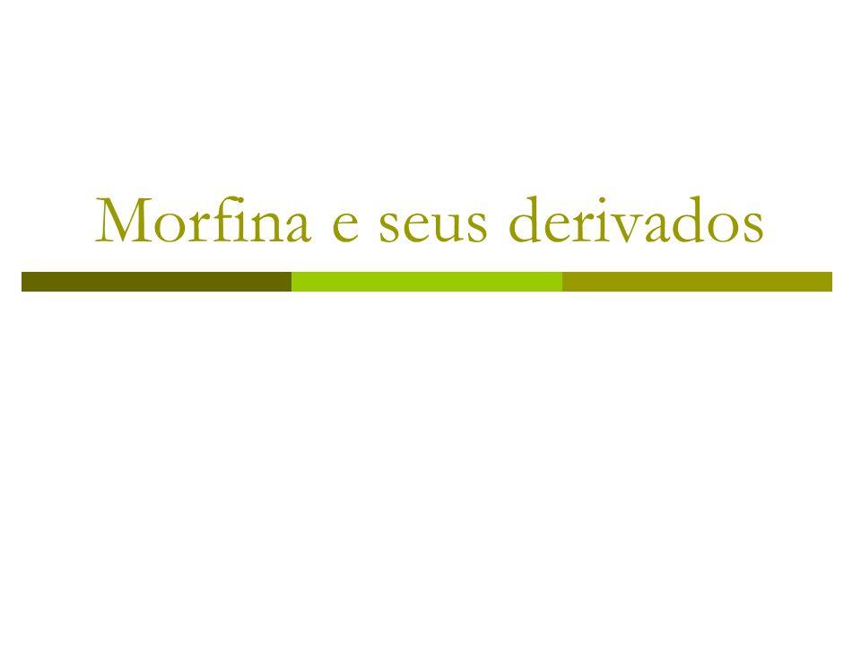 Morfina e seus derivados