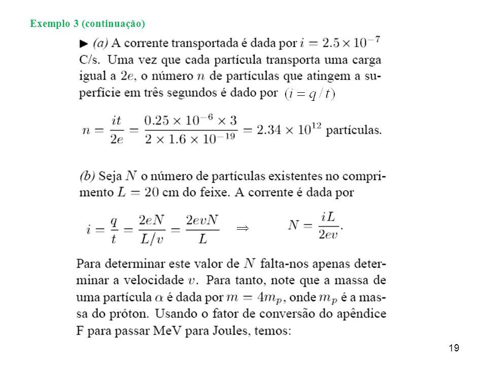 19 Exemplo 3 (continuação)