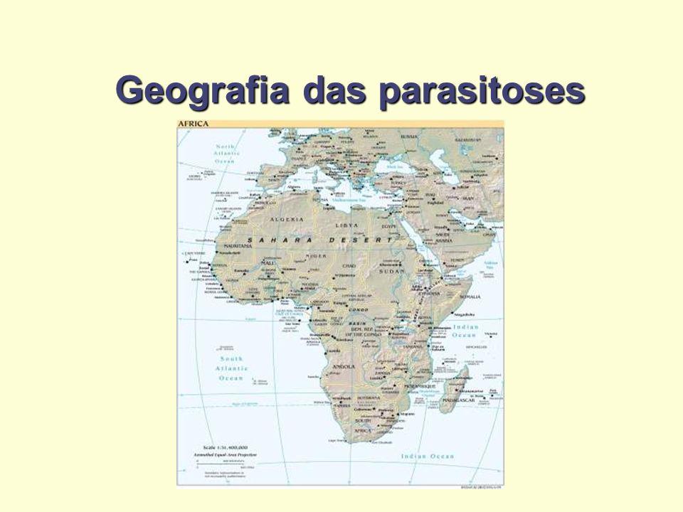 Geografia das parasitoses
