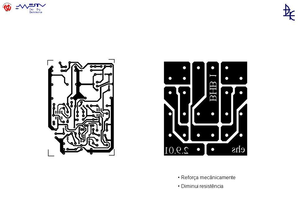 Dep. Eng. Electrotécnica Reforça mecânicamente Diminui resistência