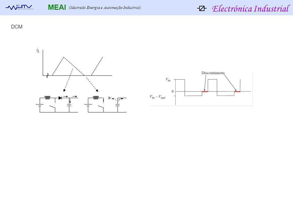 Electrónica Industrial MEAI (Mestrado Energia e Automação Industrial) iLiL DCM