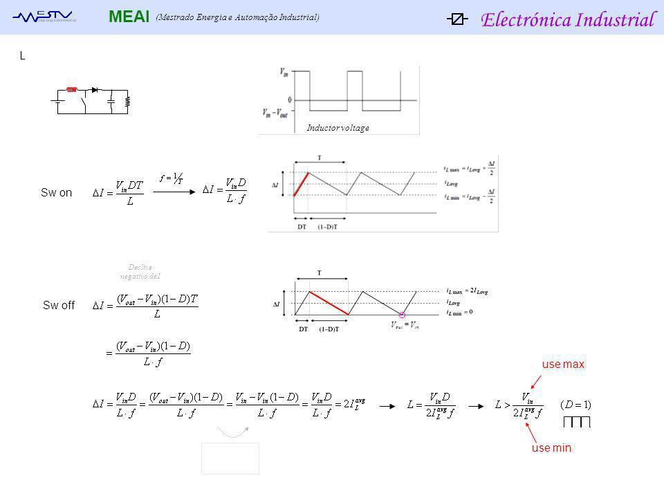 Electrónica Industrial MEAI (Mestrado Energia e Automação Industrial) Switch