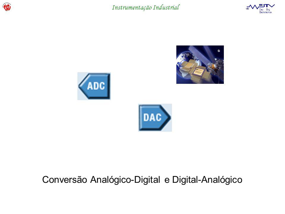 Instrumentação Industrial Dep. Eng. Electrotécnica Conversão Analógico-Digital e Digital-Analógico