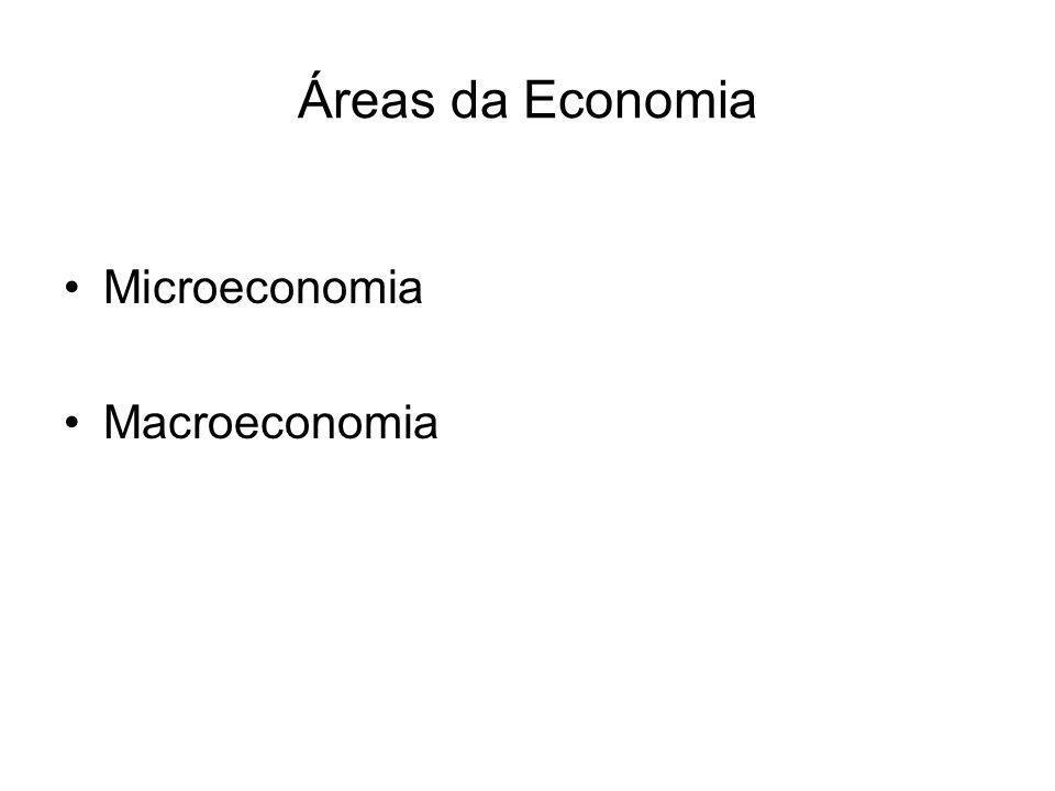 Os três problemas da organização económica Que bens devem ser produzidos e em que quantidades.