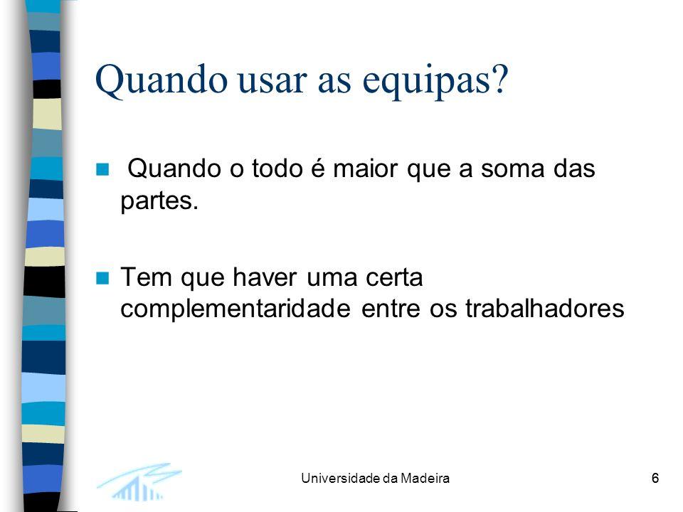 7Universidade da Madeira7 Exemplo: Uma firma tem dois projectos para completar: –O primeiro termina dentro de um mês, dando lucro de 10 000.