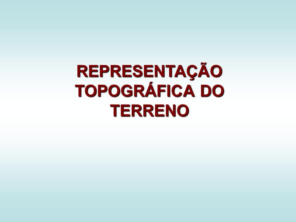 REPRESENTAÇÃO TOPOGRÁFICA DO TERRENO