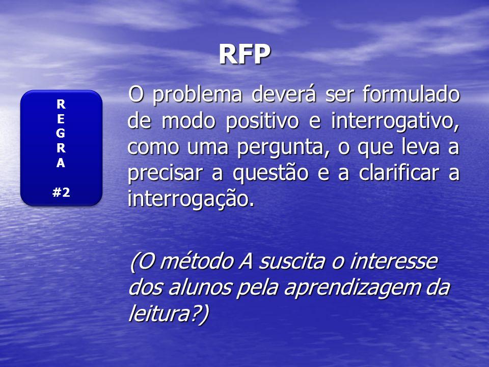 EXERCÍCIO II Avalie os seguintes problemas de investigação: Avalie os seguintes problemas de investigação: 1.