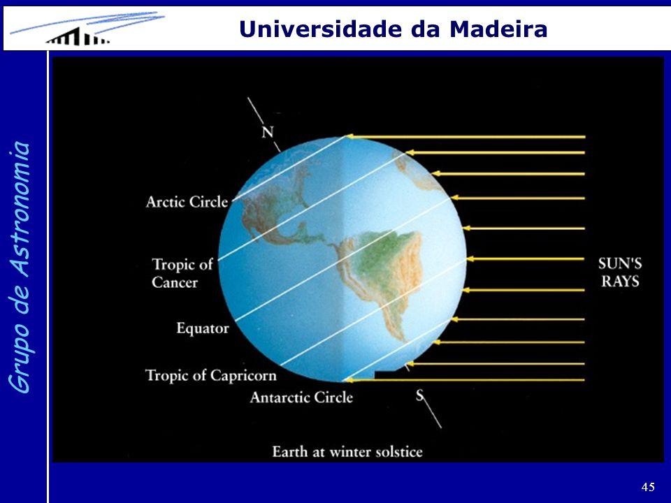 45 Grupo de Astronomia Universidade da Madeira