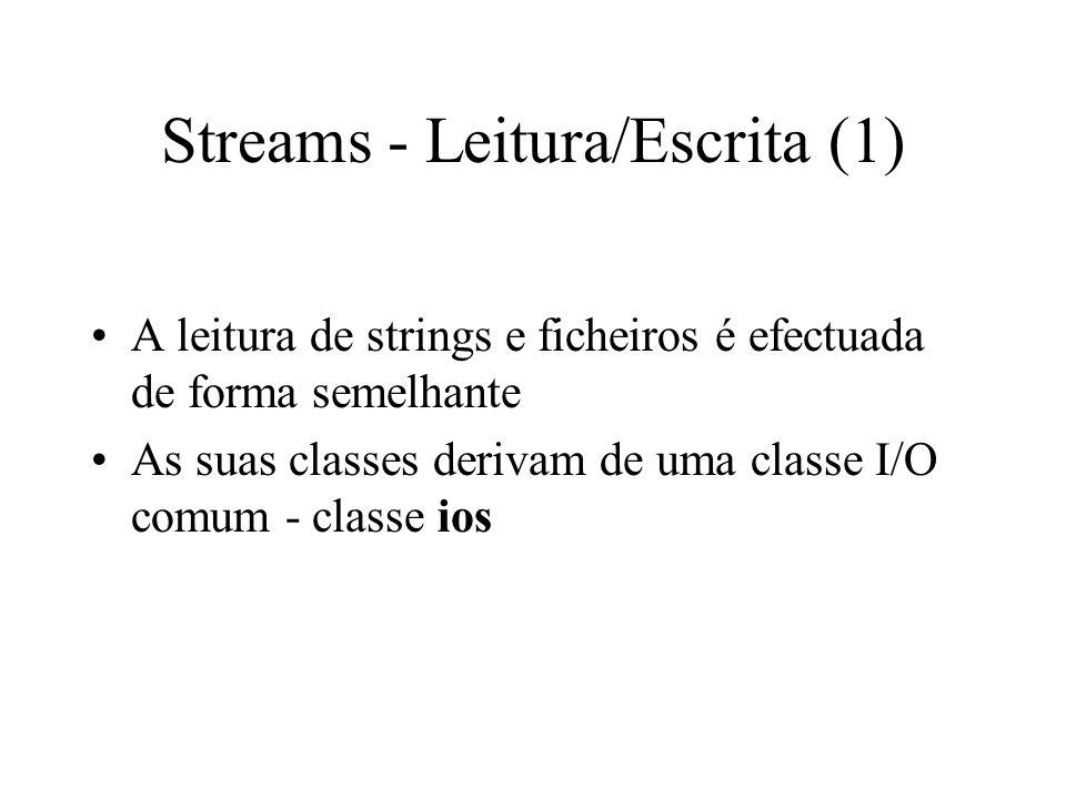 LEITURA / ESCRITA