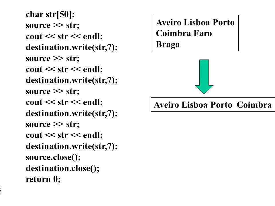 int main(int argc, char* argv[]) {fstream source,destination; source.open(