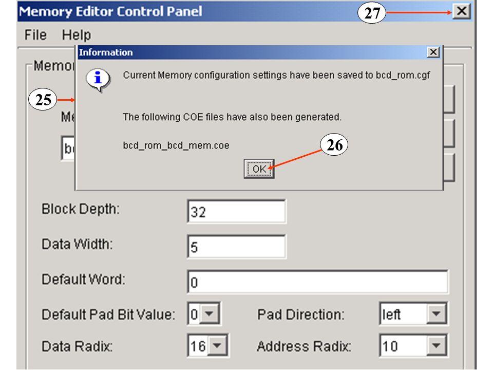aout <= state; -- o estado corrente representa -- o endereço da porta A da RAM process(clk48, rst) –- escreve dados na porta A -- da RAM begin if sign = 1 then line <= + ; -- põe na linha respectiva o sinal + elseline <= - ; -- põe na linha respectiva -- o sinal - (não é utilizado neste exemplo) end if; if rst= 1 then null; -- a operação não é executada elsif rising_edge(clk48) then –- se o sinal de -- reset for inactivo, executa-se o código seguinte case state is –- escreve 10 caracteres na primeira linha do LCD: -- 1 para operando 1; 3 para + ; 1 para -- operando 2; 3 para = ; 2 para o resultado