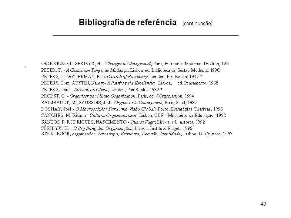 40 Bibliografia de referência (continuação) _____________________________________________________________________.