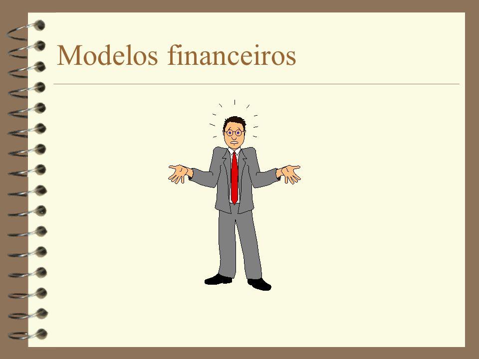 Objectivos: Familiarizar os estudantes com alguns problemas do domínio financeiro recordar técnicas e conceitos matemáticos já abordados no ensino básico estudo detalhado de um modelo envolvendo juros