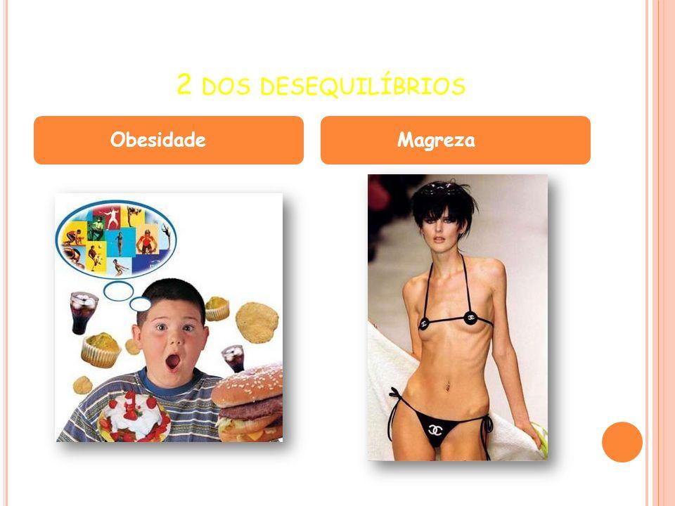 2 DOS DESEQUILÍBRIOS ObesidadeMagreza