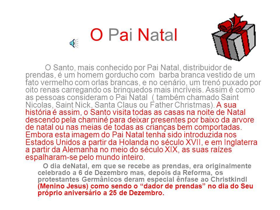 É Natal É Natal O Natal é uma das festas mais importantes na vida das pessoas. O Natal celebra o nascimento de Jesus Cristo. A festa é celebrada no di