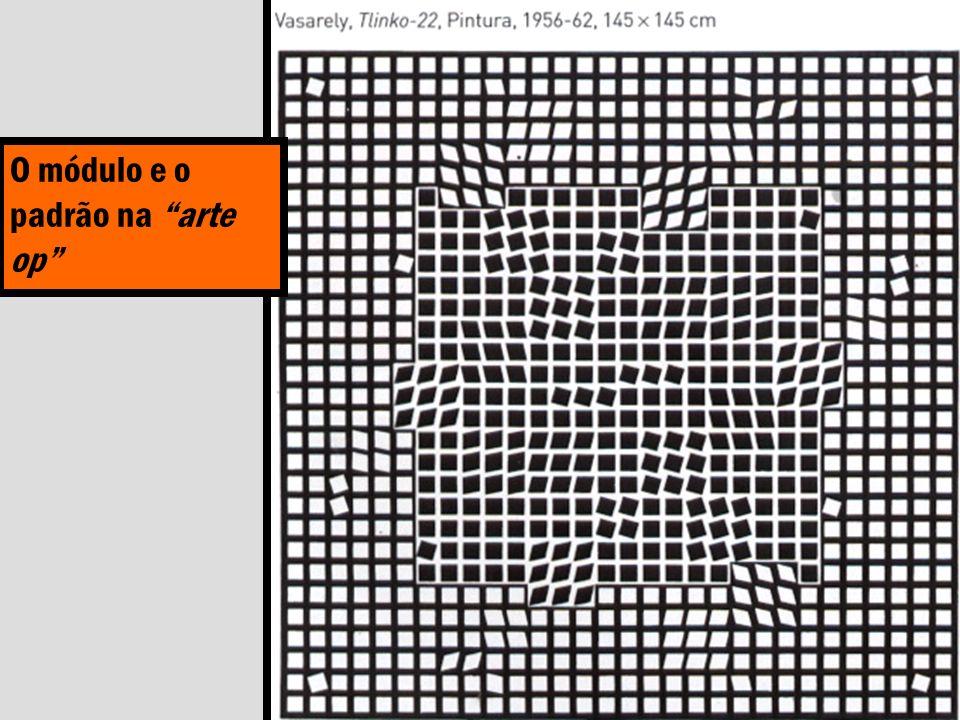 O módulo e o padrão na arte op