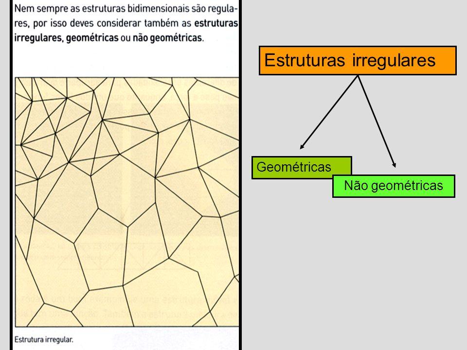 Rede, malhatrama Rede, malha ou trama estrutura É uma estrutura modular simples que organiza uma superfície.