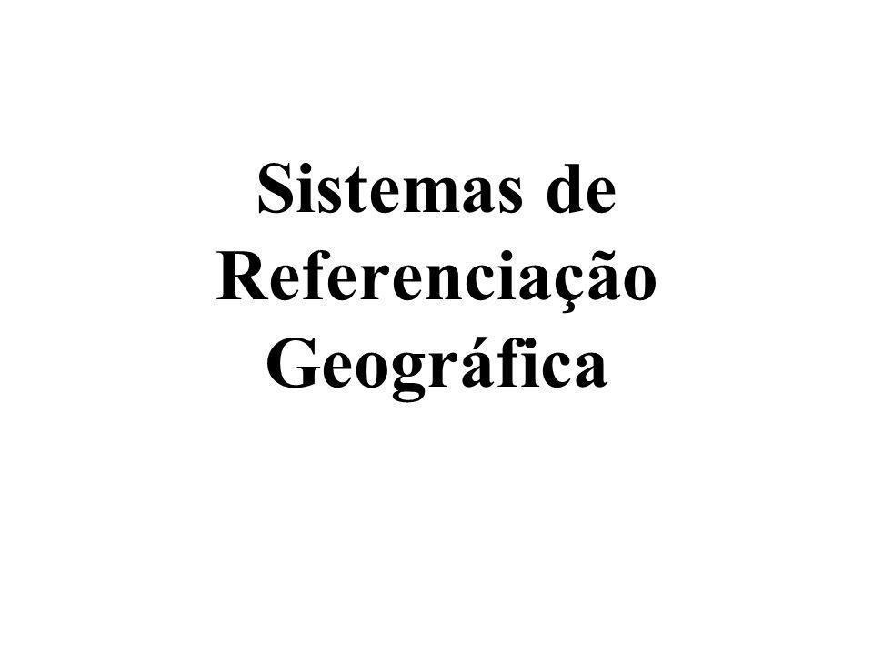 Coordenadas e Sistemas de Referência Qualquer processo de representação geográfica exige que se atribuam coordenadas a pontos: os dados relativos à localização na superfície terrestre de um objecto permitem identificar onde se encontra esse objecto
