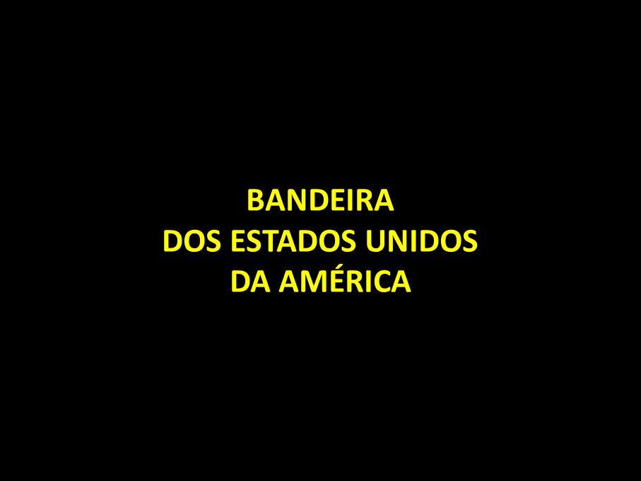 BANDEIRA DOS ESTADOS UNIDOS DA AMÉRICA
