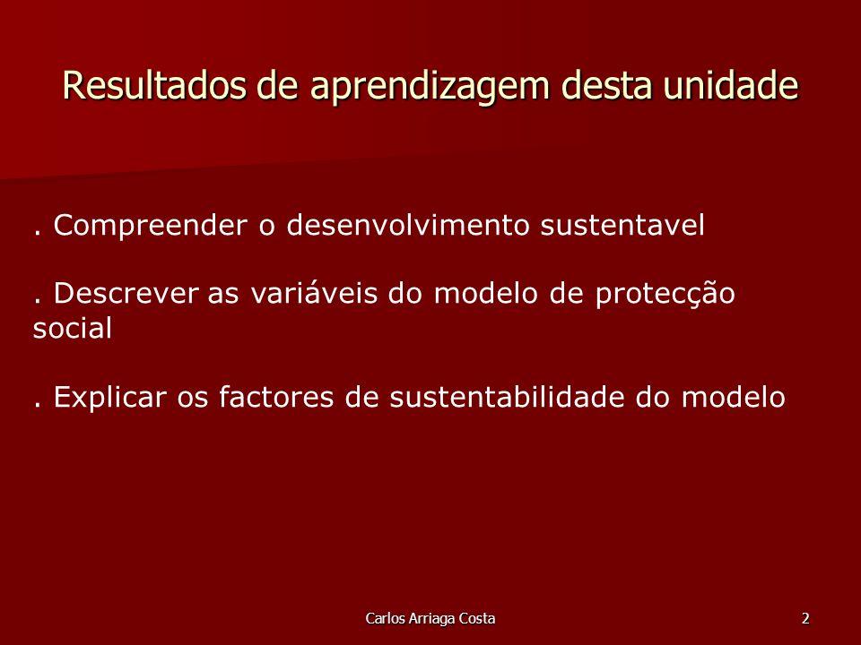 Carlos Arriaga Costa2. Compreender o desenvolvimento sustentavel.