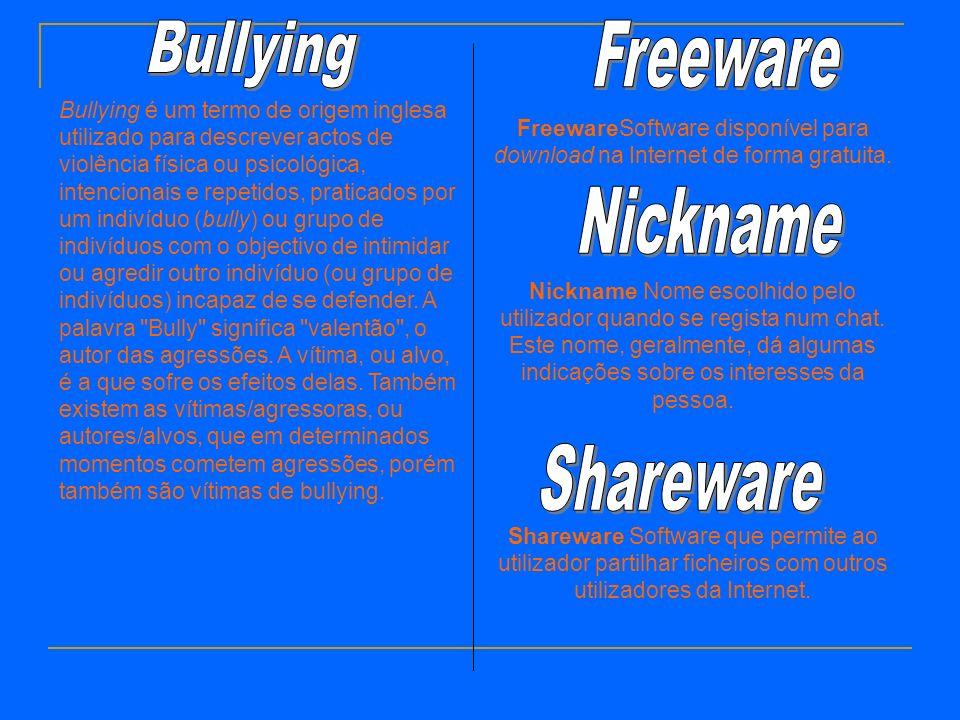 Bullying é um termo de origem inglesa utilizado para descrever actos de violência física ou psicológica, intencionais e repetidos, praticados por um indivíduo (bully) ou grupo de indivíduos com o objectivo de intimidar ou agredir outro indivíduo (ou grupo de indivíduos) incapaz de se defender.