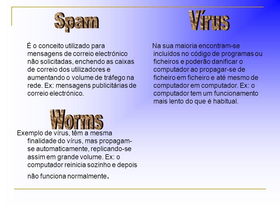 É o conceito utilizado para mensagens de correio electrónico não solicitadas, enchendo as caixas de correio dos utilizadores e aumentando o volume de tráfego na rede.
