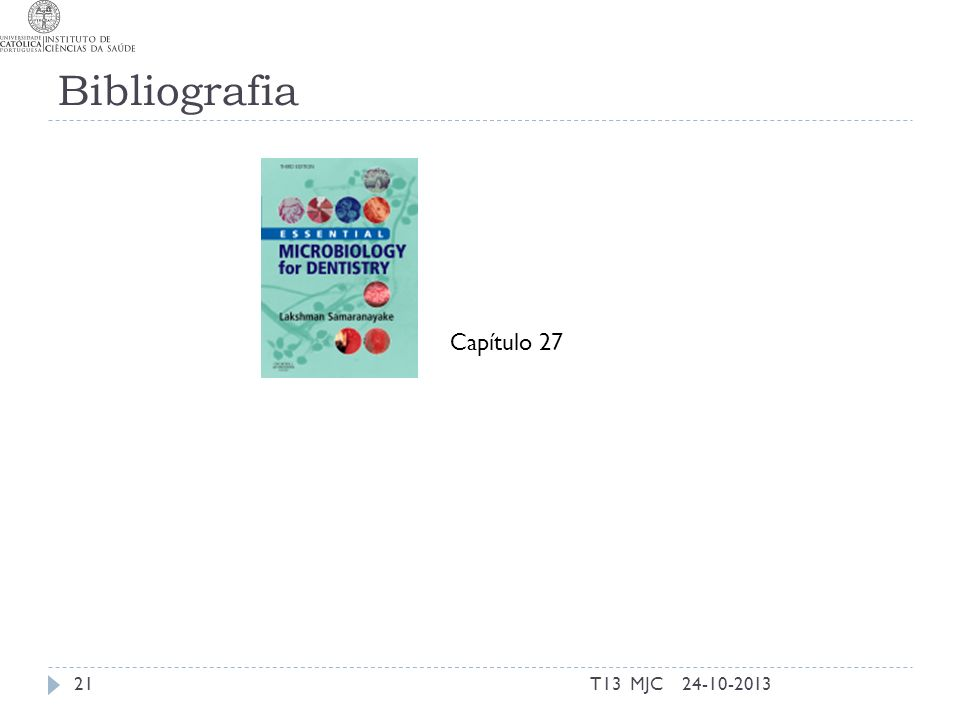 Bibliografia T13 MJC2124-10-2013 Capítulo 27