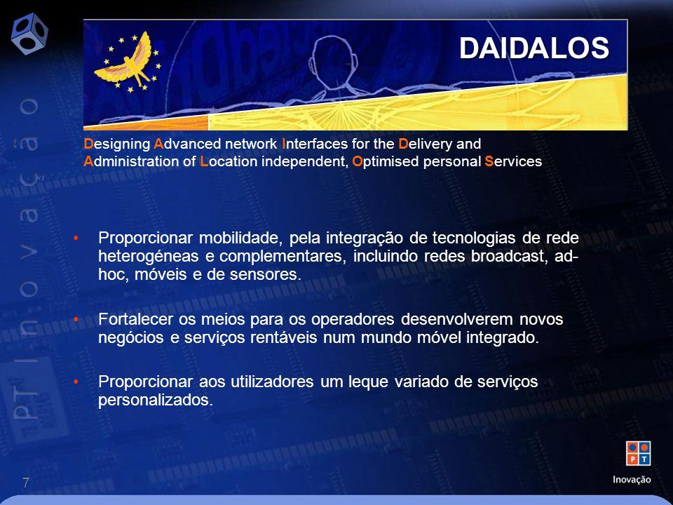 18 Algumas Conclusões O débito diminui com a distância, especialmente no UL.