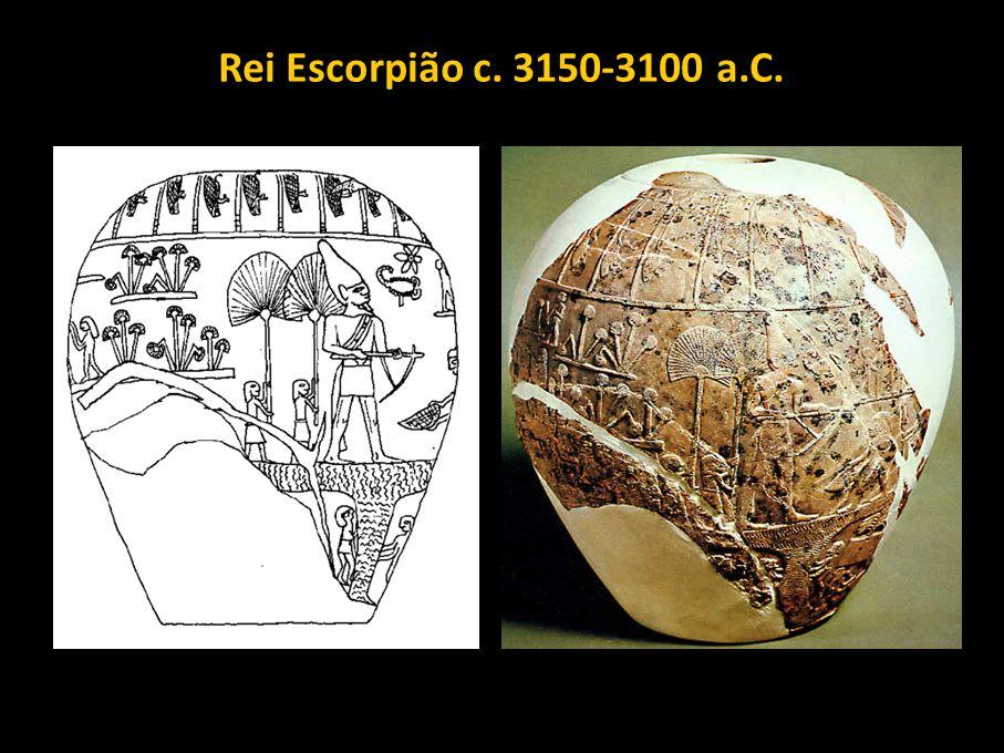 Rei Escorpião c. 3150-3100 a.C.