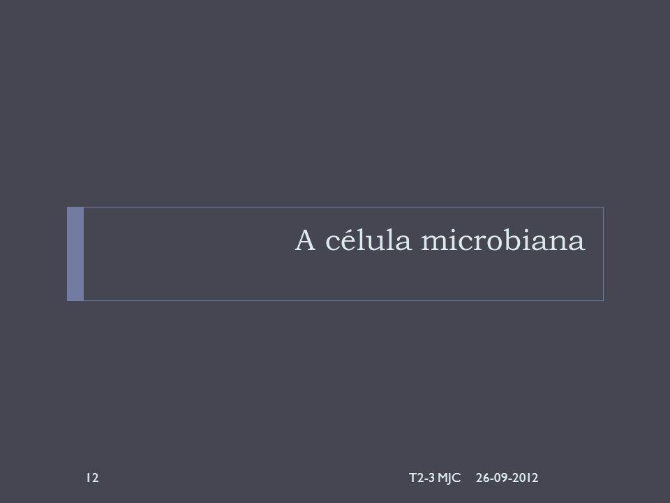 A célula microbiana 26-09-2012T2-3 MJC12