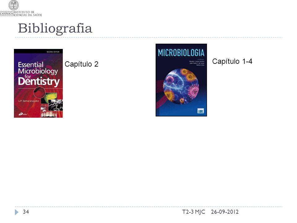 Bibliografia T2-3 MJC34 Capítulo 2 26-09-2012 Capítulo 1-4