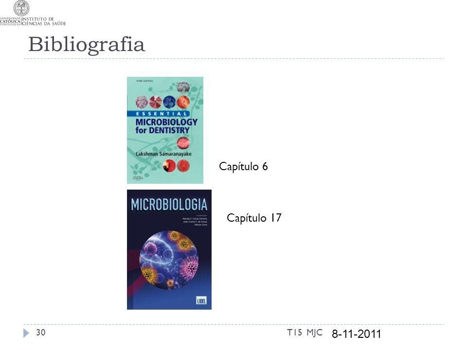 Bibliografia T15 MJC30 8-11-2011 Capítulo 6 Capítulo 17