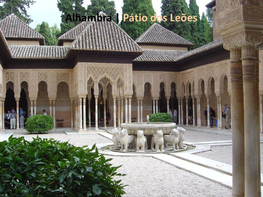 Alhambra | Pátio dos Leões
