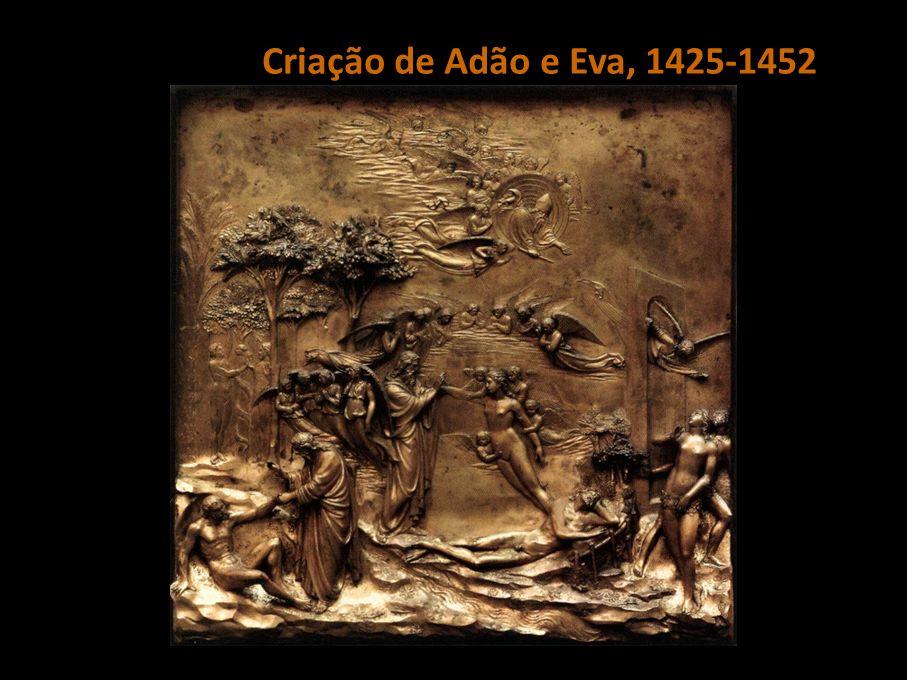 Ghiberti | Criação de Adão e Eva, 1425-1452