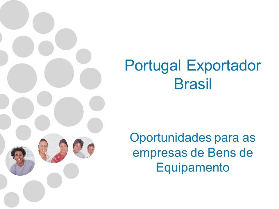 Portugal Exportador - Brasil 1 – O País Informações Gerais Panorama Macro-económico 2 – Análise das relações económicas Portugal - Brasil Comércio Investimento Turismo 3 – Algumas dificuldades à exportação para o Brasil 4 – Metodologia Identificação Produtos c/ potencial exportação