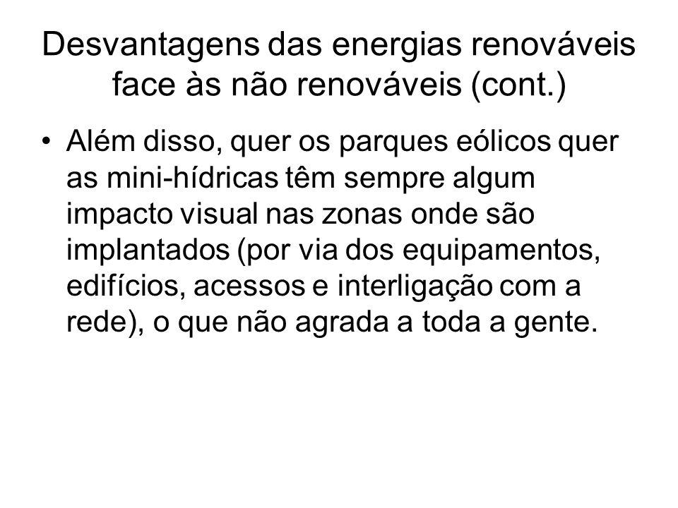 Parque Eólico das Terras do Canto Consiste em 6 aerogeradores Enercon, cada um com uma potência de 300 kW, ligados a uma subestação elevadora para ligação à rede de transporte Em 2006 produziu 10,23% da energia eléctrica consumida no Pico.