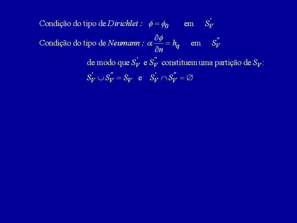 Equações Elípticas – Formulação Integral Teorema de Green Tendo em conta que e obtem-se subtraindo membro a membro e aplicando o teorema da divergência: