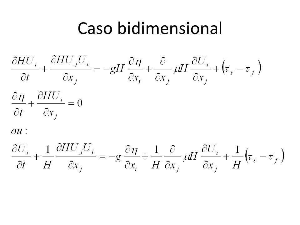 Caso bidimensional