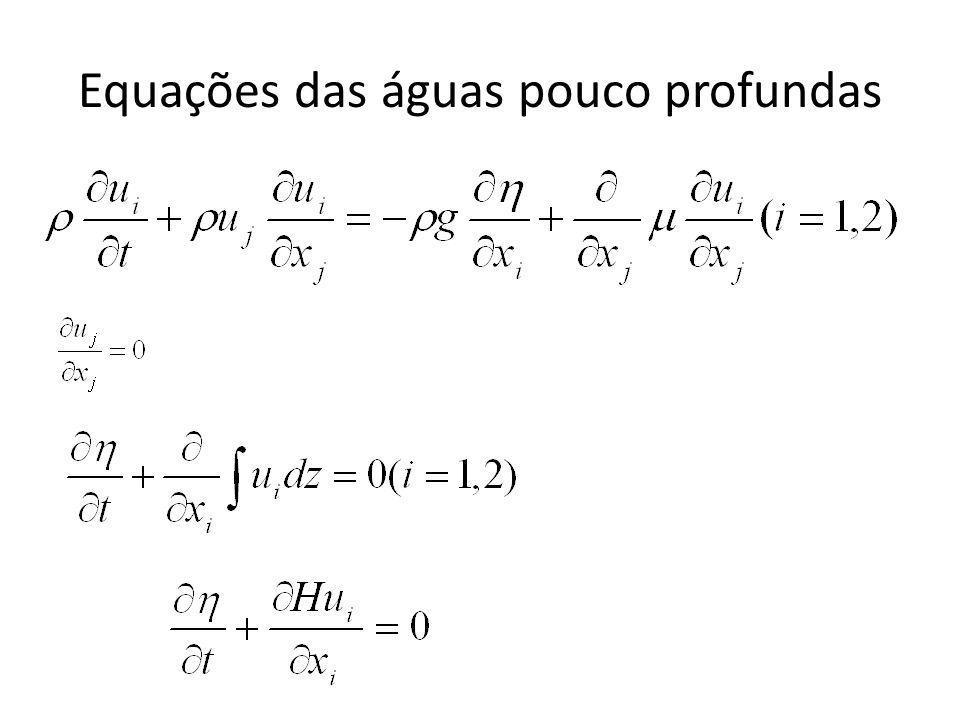 Equações das águas pouco profundas