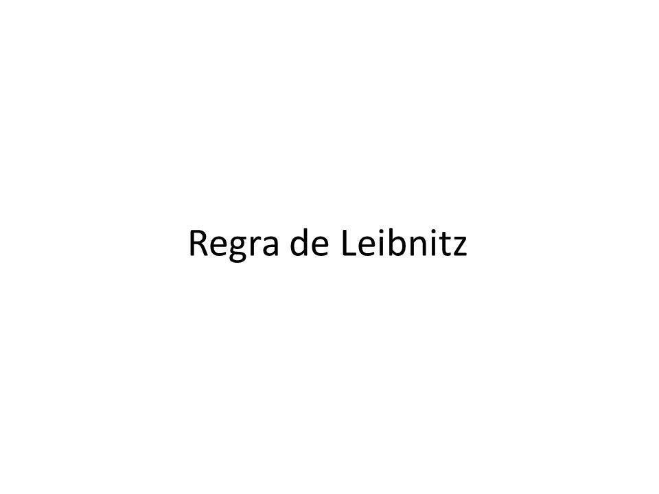 Regra de Leibnitz