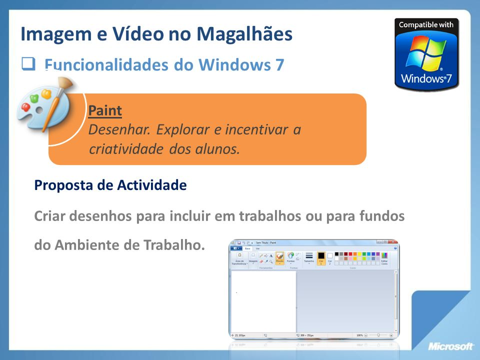 www.microsoft.com/portugal/educacao/suiteaprendizagem Suite de Aprendizagem Mais recursos em Mais Fácil Com TIC www.maisfacilcomtic.com