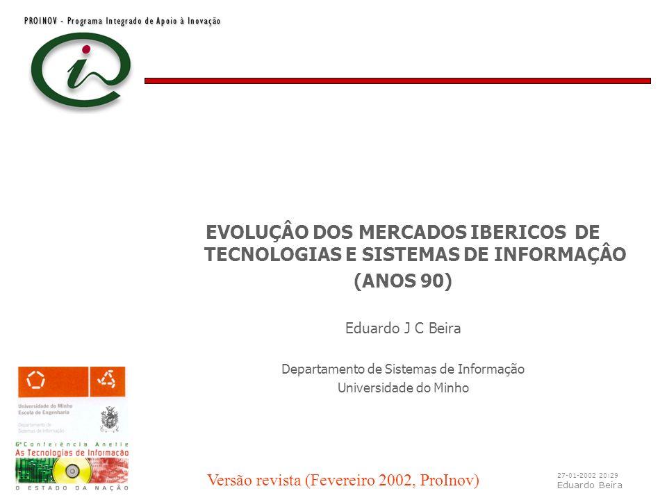 27-01-2002 20:29 Eduardo Beira ICT cluster