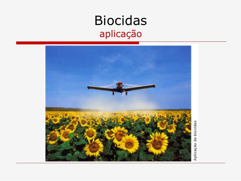 Biocidas aplicação