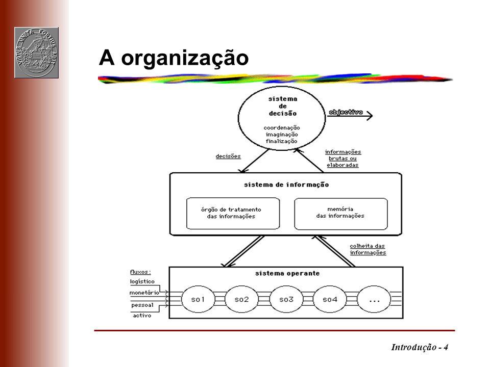 Introdução - 4 A organização