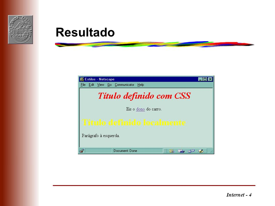 Internet - 4 Resultado