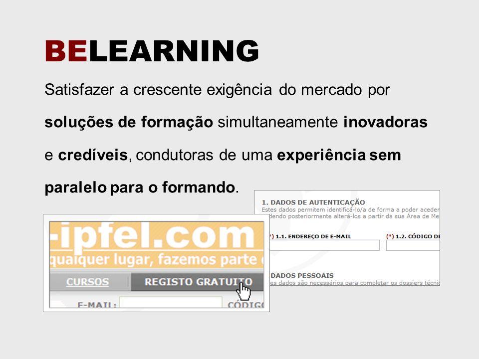 Satisfazer a crescente exigência do mercado por soluções de formação simultaneamente inovadoras e credíveis, condutoras de uma experiência sem paralelo para o formando.