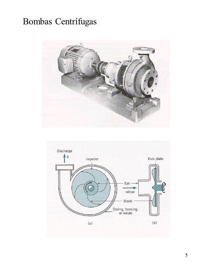 6 Trabalho realizado pelas pás rotativas da hélice sobre o fluido, forças centrífuga e tangencial, que promovem um elevado aumento da energia cinética do fluido.