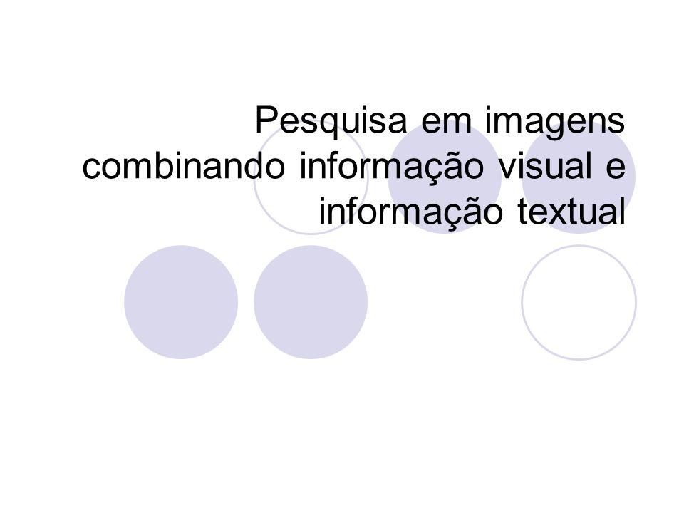 Introdução O aumento de quantidade de informação visual utilizada criou a necessidade de novos métodos nas áreas de pesquisa e recuperação de imagens, menos dependentes da intervenção humana.